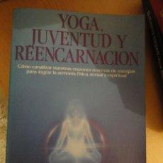 Libros de segunda mano: YOGA, JUVENTUD Y REENCARNACION. JESS STEARN. EDAF. NUEVA ERA. 1989.. Lote 195546200