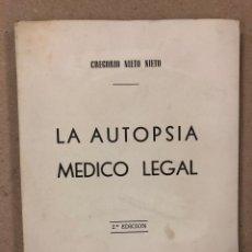 Libros de segunda mano: LA AUTOPSIA MEDICO LEGAL. GREGORIO NIETO NIETO. SEGUNDA EDICIÓN. ILUSTRADO.. Lote 196060371