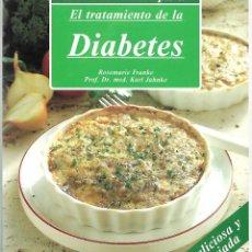 Libros de segunda mano: DIETA MODERNA PARA EL TRATAMIENTO DE LA DIABETES.. Lote 196646371