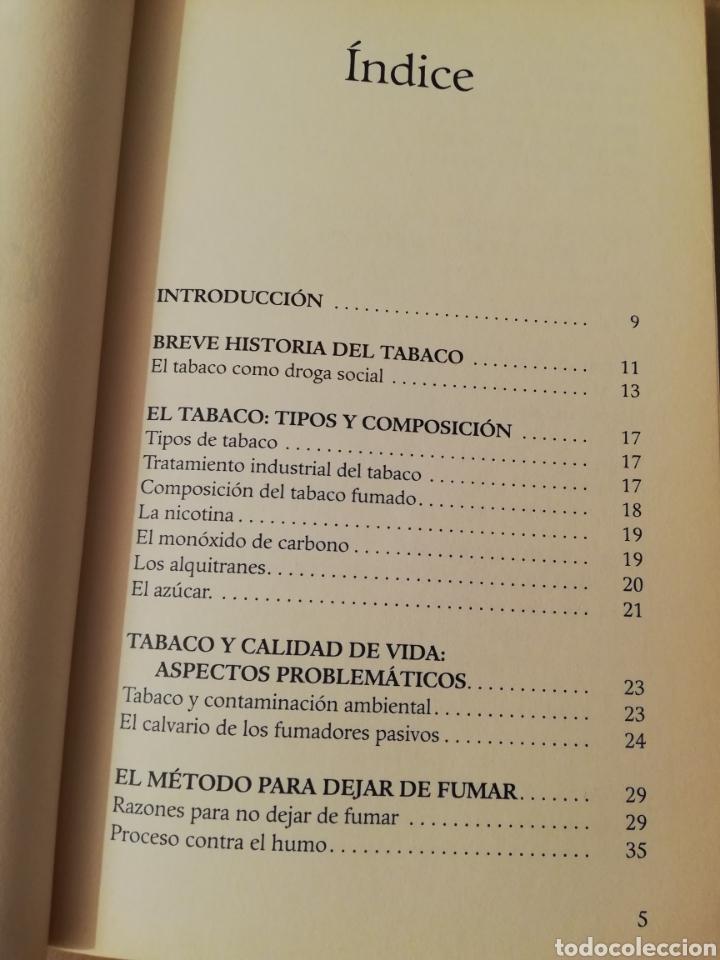 Libros de segunda mano: TU MENTE PUEDE CON EL TABACO (DR. ELSON M. HASS Y GUILLERMO LÓPEZ) - Foto 3 - 196805328