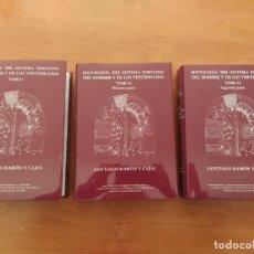 Libros de segunda mano: CAJAL HISTOLOGÍA DEL SISTEMA NERVIOSO DEL HOMBRE Y LOS VERTEBRADOS. 2007. COMPLETA. 1ª ED EN ESPAÑOL. Lote 197150572