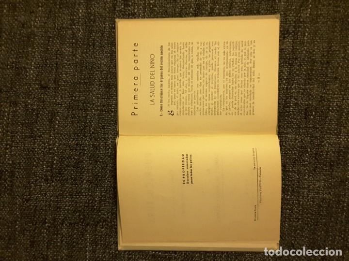 Libros de segunda mano: PUERICULTURA PROFESOR SAMUEL VELASCO EDICIONES PASTOR VALENCIA 1954 - Foto 7 - 197563647