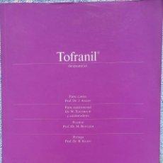 Livres d'occasion: TOFRANIL – DR. J. ANGST, DR. W. THEOBALD (STÄMPFLI, 1970) /// DEPRESIÓN FARMACOLOGÍA PSIQUIATRÍA. Lote 197913433