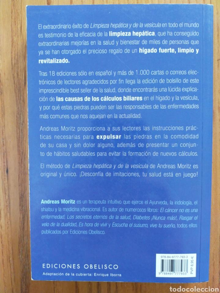Libros de segunda mano: Limpieza hepática y de la vesícula. Andreas Moritz. ISBN 9788497777933 - Foto 2 - 198612895