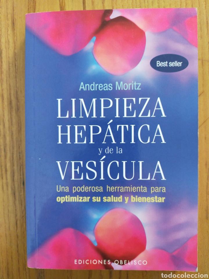 LIMPIEZA HEPÁTICA Y DE LA VESÍCULA. ANDREAS MORITZ. ISBN 9788497777933 (Libros de Segunda Mano - Ciencias, Manuales y Oficios - Medicina, Farmacia y Salud)