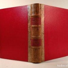 Libros de segunda mano: BIBLIOTECA MÉDICO-ESPAÑOLA SAG. REVISTA ESPAÑOLA DE FARMACOLOGÍA Y TERAPEUTICA. TOMO I DE 1940. . Lote 199206862