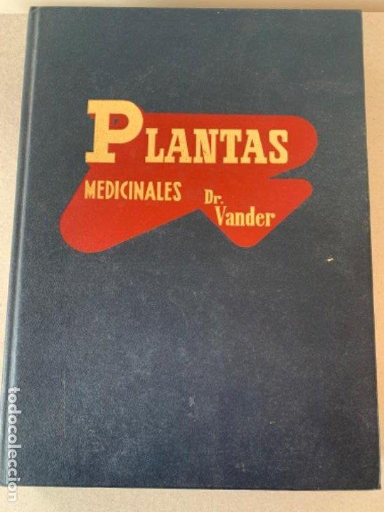 PLANTAS MEDICINALES, DR. VANDER (Libros de Segunda Mano - Ciencias, Manuales y Oficios - Medicina, Farmacia y Salud)