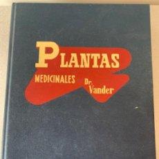 Libros de segunda mano: PLANTAS MEDICINALES, DR. VANDER. Lote 201503620