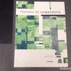 Libros de segunda mano: TRATADO DE HOMEOPATIA, EDI. PAIDOTRIBO, 2ª EDICION . Lote 201991040