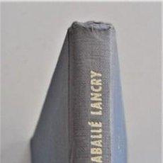 Libros de segunda mano: ELECTRODIAGNÓSTICO CLÍNICO, SISTEMA DE LAS CURVAS INTENSIDAD-TIEMPO - C. CABALLÉ LANCRY - AÑO 1966. Lote 202397405