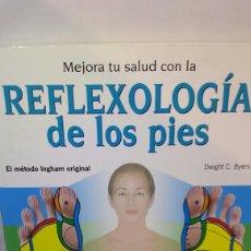 Livros em segunda mão: REFLEXOLOGIA DE LOS PIES. MÉTODO INGHAM. Lote 202563031
