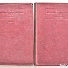 Libros de segunda mano: ATLAS OF ROENTGENOGRAPHIC POSITIONS - VINITA MERRIL - DOS VOLÚMENES - COMPLETA - LONDRES 1949. Lote 204073767