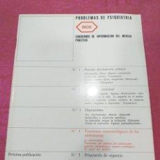 Libros de segunda mano: CUADERNOS DE INFORMACIÓN DEL MÉDICO PRÁCTICO - ROCHE 1972. Lote 204185007