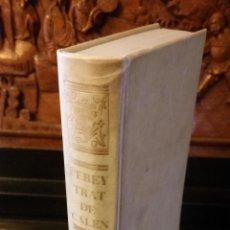 Libros de segunda mano: 1967 - JOSEPH PEREYRA - TRATADO COMPLETO DE CALENTURAS - FACSÍMIL ED. 1768. Lote 204605372