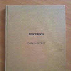Libros de segunda mano: 1915 DISCURSOS DEL DR. JOAQUÍN DECREF Y RUIZ Y EL DR. JOSE GÓMEZ / REAL ACADEMIA DE MEDICINA. Lote 205272005