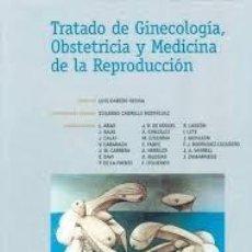 Libros de segunda mano: TRATADO DE GINECOLOGIA, OBSTETRICIA Y MEDICINA DE LA REPRODUCCION. LUIS CABRERO ROURA Y OTROS ++. Lote 206277525