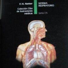 Libros de segunda mano: COLECCIÓN CIBA ILUSTRACIONES MÉDICAS NETTER. Lote 206281415