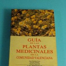 Libros de segunda mano: GUÍA DE LAS PLANTAS MEDICINALES DE LA COMUNIDAD VALENCIANA. PERIS / STÜBING / FIGUEROLA. Lote 206391027