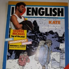 Libros de segunda mano: I LOVE ENGLISH 3 APRENDE INGLÉS APASIONADO GEORGE MICHAEL MONOPOLY BEGAN KATE CASTLE WHITE BIRD TRAV. Lote 206913606