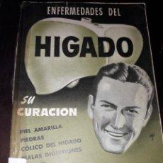 Libros de segunda mano: LIBRO 2144 ENFERMEDADES DEL HIGADO SU CURACION DR VANDER. Lote 206916117