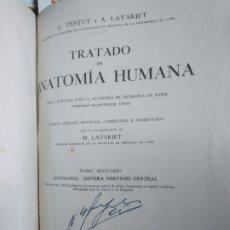 Libros de segunda mano: TRATADO DE ANATOMÍA HUMANA. TESTUT, L. - LATARJET, A. TOMO 2-II. SALVAT. 1958. Lote 206927152