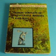 Libros de segunda mano: TRATADO COMPLETO DE TROFOTERAPIA MODERNA Y ALGO MÁS. JOSÉ CASTRO DR. NATURÓPATA. Lote 207060373