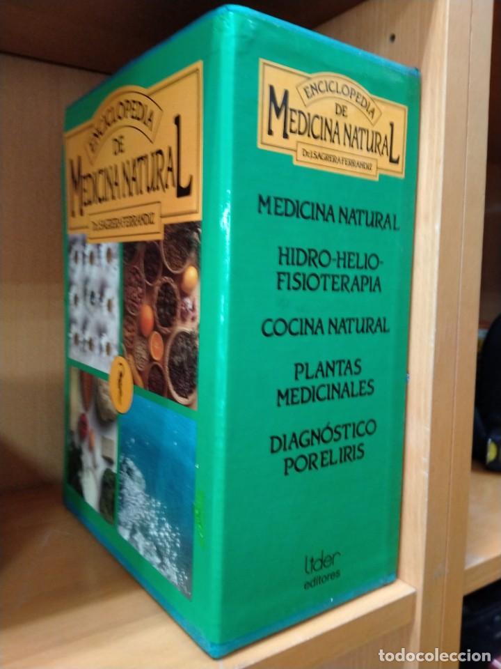 Libros de segunda mano: J. SAGRERA FERRANDIZ ENCICLOPEDIA DE MEDICINA NATURAL . 7 TOMOS (EDHIS, 1987). COMPLETA en estuche - Foto 2 - 207692226