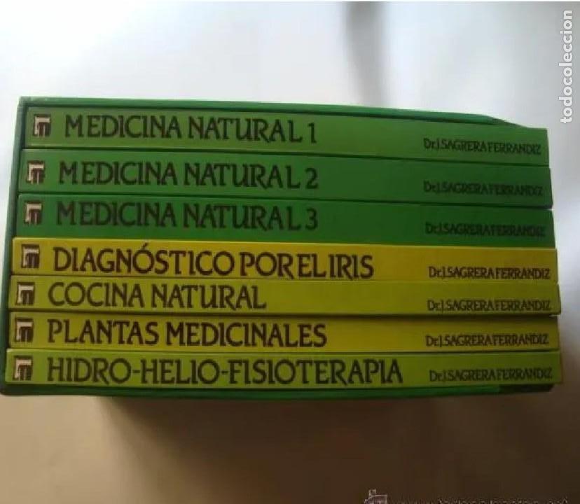 J. SAGRERA FERRANDIZ 'ENCICLOPEDIA DE MEDICINA NATURAL . 7 TOMOS' (EDHIS, 1987). COMPLETA EN ESTUCHE (Libros de Segunda Mano - Ciencias, Manuales y Oficios - Medicina, Farmacia y Salud)