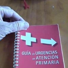 Libros de segunda mano: GUÍA DE URGENCIAS EN ATENCIÓN PRIMARIA BAYER. Lote 208421881