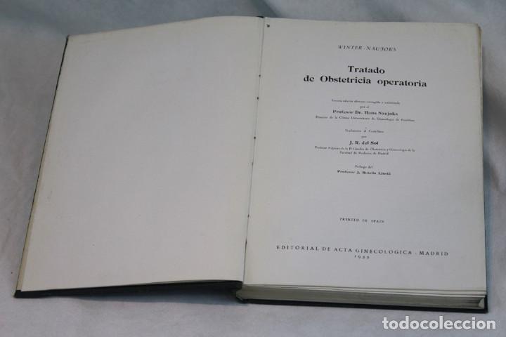 Libros de segunda mano: Tratado de Obstetricia operatoria,Winter-Naujoks,Editorial de acta ginecologica,1955 - Foto 2 - 208921971