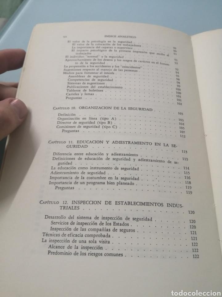 Libros de segunda mano: MANUAL DE PREVENCIÓN DE ACCIDENTES DE TRABAJO. R. P. BLAKE. ED. REVERTÉ, 1962. - Foto 8 - 208998763