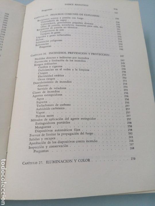 Libros de segunda mano: MANUAL DE PREVENCIÓN DE ACCIDENTES DE TRABAJO. R. P. BLAKE. ED. REVERTÉ, 1962. - Foto 13 - 208998763