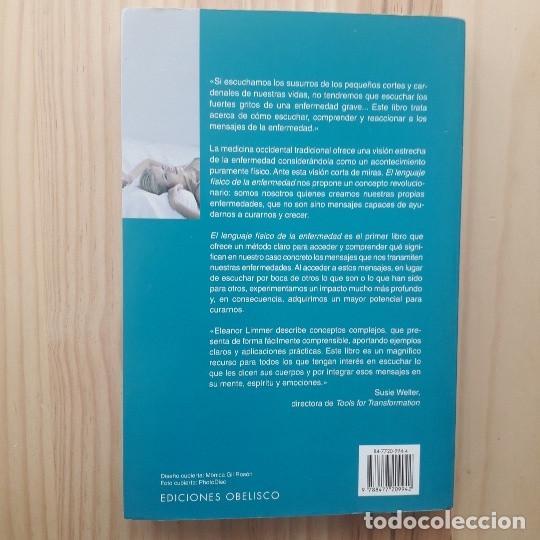 Libros de segunda mano: EL LENGUAJE FISICO DE LA ENFERMEDAD - M.S.W. ELEANOR - Foto 3 - 210195671