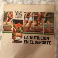 Libros de segunda mano: LA NUTRICIÒN EN EL DEPORTE, NESTLE 1989. Lote 210254823