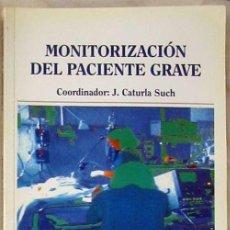 Libros de segunda mano: MONITORIZACIÓN DEL PACIENTE GRAVE - J. CATURLA SUCH - IDEPSA 1995 - VER INDICE. Lote 210317983