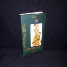 Libros de segunda mano: FERMIN CABAL - ABC DE LA ACUPUNTURA - CON 6 LAMINAS ANATOMICAS - EDITORIAL CABAL 2ª EDICION 1984. Lote 210632465