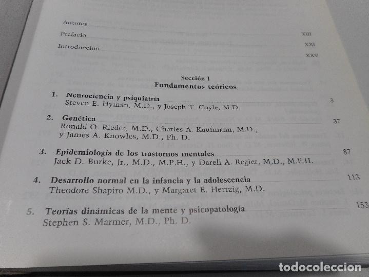 Libros de segunda mano: ROBERT E. HALES, STUART C. YUDOFSKY, JOHN A, TALBOTT Tratado de Psiquiatría Q1775A - Foto 2 - 210824537