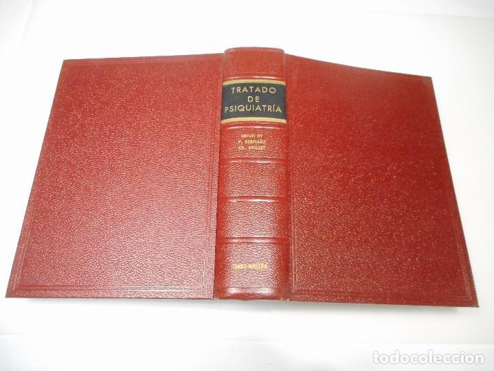 HENRI EY, P. BERNARD Y CH. BRISSET TRATADO DE PSIQUIATRÍA Q1783T (Libros de Segunda Mano - Ciencias, Manuales y Oficios - Medicina, Farmacia y Salud)
