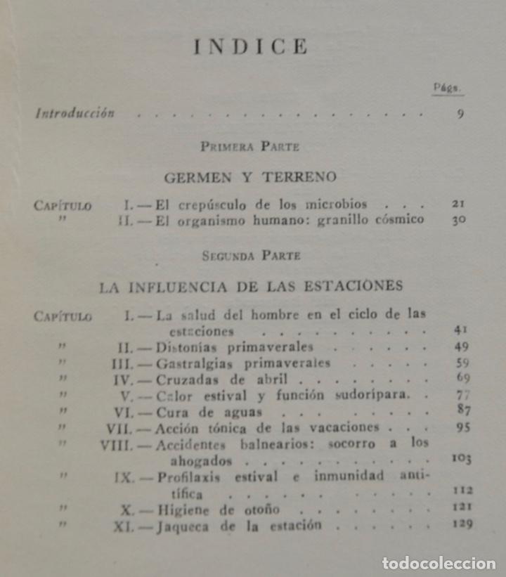 Libros de segunda mano: Mario Musella. ¿Se Alarga la Vida Humana? (La Salud en Nuestro Tiempo). Salvat. 1ª Edición. 1948 - Foto 3 - 210829379