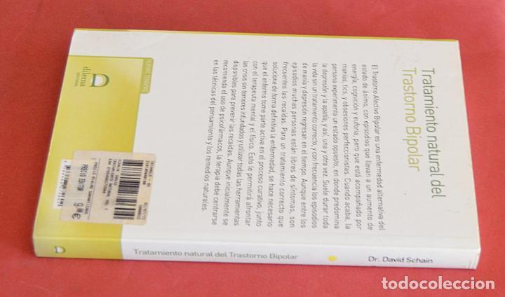 Libros de segunda mano: TRATAMIENTO NATURAL DEL TRASTORNO BIPOLAR - DR. DAVID SCHAIN - Foto 2 - 210939564