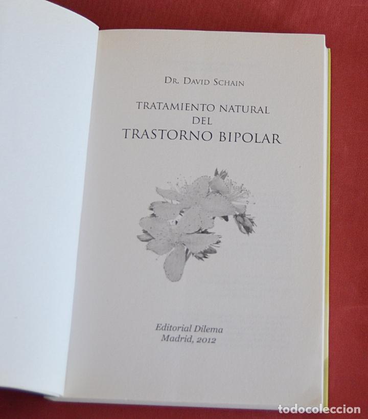 Libros de segunda mano: TRATAMIENTO NATURAL DEL TRASTORNO BIPOLAR - DR. DAVID SCHAIN - Foto 3 - 210939564