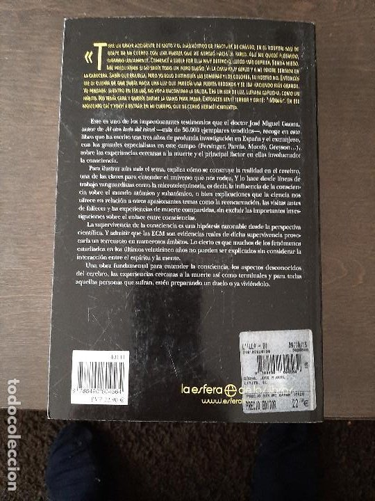 Libros de segunda mano: EL LIMITE. Dr. Gaona. Investigación sobre el cerebro, la conciencia y expe. cercanas a la muerte. - Foto 3 - 210940621