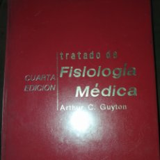 Libros de segunda mano: TRATADO FISIOLOGÍA MÉDICA. ARTHUR C. GUYTON. CUARTA EDICIÓN INTERAMERICANA. AÑO 1973. CARTONÉ. PÁGIN. Lote 210941965