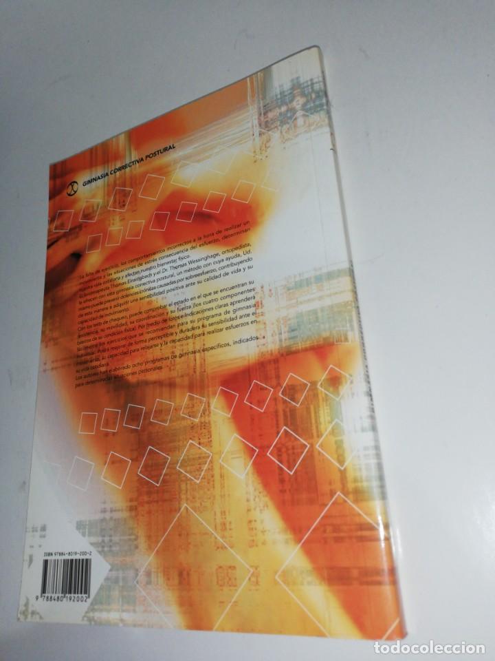 Libros de segunda mano: GIMNASIA CORRECTIVA POSTURAL , EISINGBACH / WESSINGHAGE - Foto 2 - 210981357