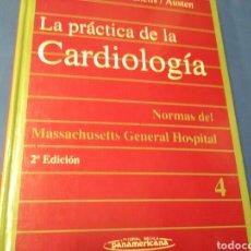 Libros de segunda mano: LA PRÁCTICA DE LA CARDIOLOGIA ..EAGLE / HABER / DESSANCTIS / AUSTEN ED.MÈDICA PANAMERICANA. Lote 211609311
