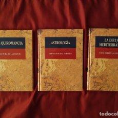 Libros de segunda mano: LOTE DE 3 LIBROS DE LA COLECCIÓN SALUD Y COSTUMBRES. EDITA CULTURA S.A.. Lote 212814708