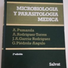Libros de segunda mano: MICROBIOLOGÍA Y PARASITOLOGÍA MÉDICA - PUMAROLA, RODRÍGUEZ, GARCÍA, PIÉDROLA. SALVAT. 2ª EDICIÓN. Lote 212872472