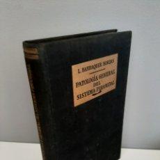 Libros de segunda mano: PATOLOGIA GENERAL DEL SISTEMA PIRAMIDAL, L. BARRAQUER BORDAS, MEDICINA / MEDICINE, JOSE JANES, 1952. Lote 212988615