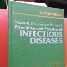 Livros em segunda mão: PRINCIPLES AND PRACTICE OF INFECTIOUS DISEASES. 2 VOL. MANDELL, DOUGLAS & BENNETT. 4ª ED. 1995.. Lote 213148353