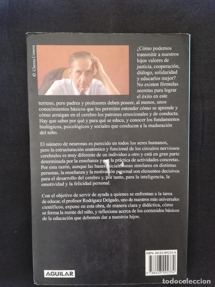 Libros de segunda mano: LA MENTE DEL NIÑO - JOSÉ M. RODRÍGUEZ DELGADO - Foto 2 - 213270790